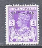 BR  B URMA   36   * - Burma (...-1947)