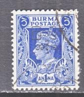 BR  B URMA   54   (o) - Burma (...-1947)