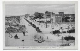 LACANAU OCEAN - N° 2 - VILLAS DU BORD DE L' OCEAN AVEC PERSONNAGES ET VIEILLES VOITURES ET MOTO - FORMAT CPA - Other Municipalities