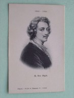 A Van DYCK ( DIJCK ) ( 1599-1641 ) Anno 19?? ( Zie Foto Voor Details ) !! - Artistes
