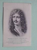 Jean Baptiste MOLIERE Poète ( 1622-1673 Paris ) Anno 1910 ( Zie Foto Voor Details ) !! - Artistes