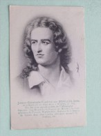 Johann Christophe Friedrich SCHILLER Poète ( 1759-1805 Weimar ) Anno 1910 ( Zie Foto Voor Details ) !! - Artistes