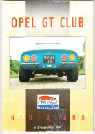 OPEL GT CLUB Nederland Magazine - Nr. 3  September  2004 - Tijdschriften