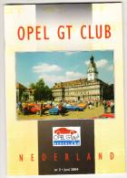 OPEL GT CLUB Nederland Magazine - Nr. 2  Juni  2004 - Tijdschriften