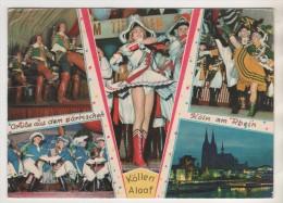 CARNAVAL DE COLOGNE ALLEMAGNE - JOLIE MULTIVUES, FLAMME DU ZOO DE COLOGNE - VOIR LES SCANNERS - Carnaval