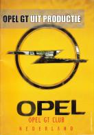 OPEL GT CLUB Nederland Magazine - Nr. 3 September  2009 - Tijdschriften