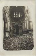Militaria - Carte Photo - Belgique - YPRES - L'Église Saint-Martin - 23 Mars - War 1914-18