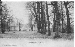 MONTMIRAIL : Les Avenues - CPA Non Utilisée - Frankreich