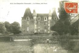 La Chapelle Chaussée. Le Chateau à La Chapelle Chaussée. - France