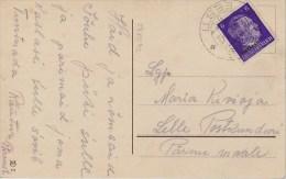 Ostland; Local Postcard 1942 - Occupation 1938-45