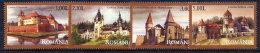 ROMANIA 2008 Castles Set Of 4  MNH / **.  Michel 6313-16 - 1948-.... Republics