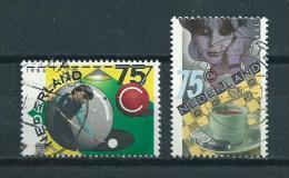 1986 Netherlands Complete Set Sports Used/gebruikt/oblitere - Periode 1980-... (Beatrix)