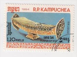 KAMPUCHEA 1984 STRUMENTI MUSICALI USATO - Kampuchea
