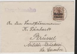 BB090/ Printed Matter, Nor Censoed - Weltkrieg 1914-18