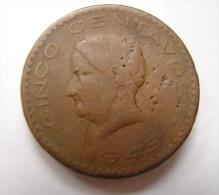 PA. Mo. 16. Cinco Centavos. Mexique. 1943. - Mexique