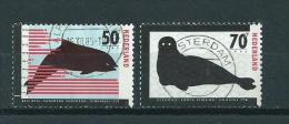 1985 Netherlands Complete Set Endangered Animals Used/gebruikt/oblitere - Periode 1980-... (Beatrix)