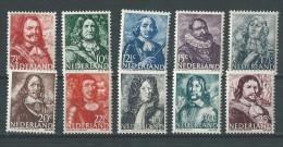 Pays-Bas: 402/ 411 ** - 1891-1948 (Wilhelmine)
