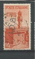 PER007 - ITALIA REPUBBLICA - PERFIN N. 569 - 4 L.. AVVENTO - CATALOGO UNIFICATO - 6. 1946-.. Republic