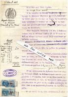 Tribunal De CHATEAUBRIANT -  Bourg De LOUISFERT '44)  Témoins, De Dame Caridel, Tous De Louisfert, Contre Son Mari .1913 - Vieux Papiers