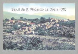 SAN VINCENZO LA COSTA....PANORAMA..COSENZA..CALABRIA - Other Cities