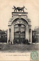 59 LILLE L'Abattoir , Porte D'entrée - Lille