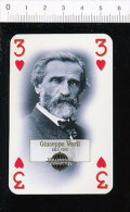 Giuseppe Verdi  / Portrait  / 126/61 - Ohne Zuordnung