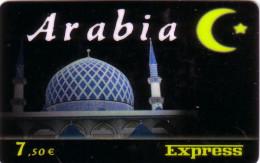 FRANCE PREPAID ARABIA MOSQUEE MINARETS EXPRESS 7.50� UT