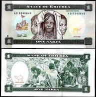 ERITREA : 1 Nakfa Del 1997    Pick 1   Fds   UNC - Erythrée