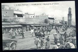 Cpa Du Maroc Casablanca Boulevard Du 4è Zouaves    JA15 35 - Casablanca