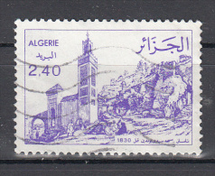 Algerije 1982 Mi Nr 799 Moskee Sidi Boumediene - Algerije (1962-...)