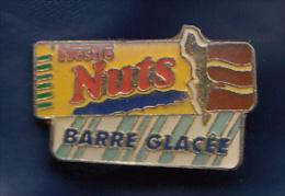 Pin's   /    Barre Glaçée     '  '      NUTS    '  ' - Alimentation