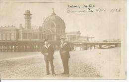 CPA PHOTO: NICE - PALAIS DE LA JETE - 1928 ( Animées - MARIN ) - Unclassified