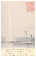 CARTE POSTALE SUISSE  1905 GENEVE LE JET D'eau De 90 Metres - Zonder Classificatie