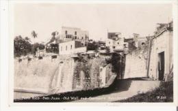 PORTO RICO 537 SAN JUAN . OLD WALL AND GOVERNOR'S RESIDENCE - Puerto Rico