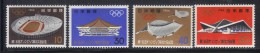 OL-C101 - JAPON GIAPPONE Olimpiadi Di Tokyo Yv 787/90 ***   MNH - Estate 1964: Tokio