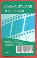 TESSERA FILATELICA ITALIA - 2010 - Cinema Italiano - Alberto Sordi - 1946-.. Republiek