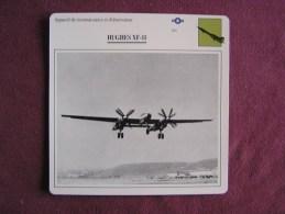 HUGHES XF-11     FICHE AVION Avec Description  Aircraft Aviation - Vliegtuigen