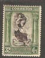 PORTUGAL    Scott  # 445*  VF MINT LH - 1910-... Republic