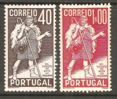 PORTUGAL    Scott  # 572-3*  VF MINT LH - 1910-... Republic