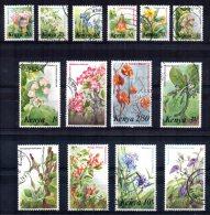 Kenya - 1983/85 - Flowers (Part Set) - Used - Kenya (1963-...)
