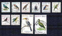 Kenya - 1993/94 - Birds (Part Set) - Used - Kenya (1963-...)