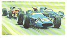 Jackie Stewart -  Matra MS80 -  Mobil Carte De Collection  -  Illustrateur Roy Nockolds - Automobile - F1