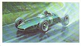 Graham Hill -  B.R.M. V8 (1962) -  Mobil Carte De Collection  -  Illustrateur Roy Nockolds - Automobile - F1