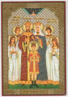 HOLY CARD, SANTINO Della CHIESA ORTODOSSA RUSSA - FAMIGLIA Dello ZAR SANTIFICATA - Devotieprenten