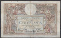 BILLET 100 FRANCS - MERSON - 5-1-39 - Usagé - 1871-1952 Anciens Francs Circulés Au XXème