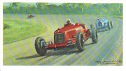 Luigi Fagioli  -  Maserati 8C 2800  (1931) Grand Prix  -  Mobil Carte De Collection  -  Illustrateur Roy Nockolds - Automobile - F1