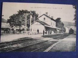 LE GRAND LEMPS  La Gare ISERE - Autres Communes