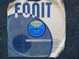 FONIT / DURIUM   MAZURCA VARIATA  -   FREMITO D'AMORE - 78 Rpm - Schellackplatten