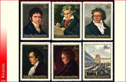 Rwanda 0416/21*  Beethoven  H
