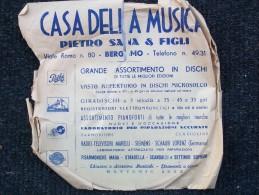 CETRA          L´ATTESA  -  VOLA COLOMBA (NILLA PIZZI)   L´ATTESA   ( Gino Latilla ) - 78 G - Dischi Per Fonografi